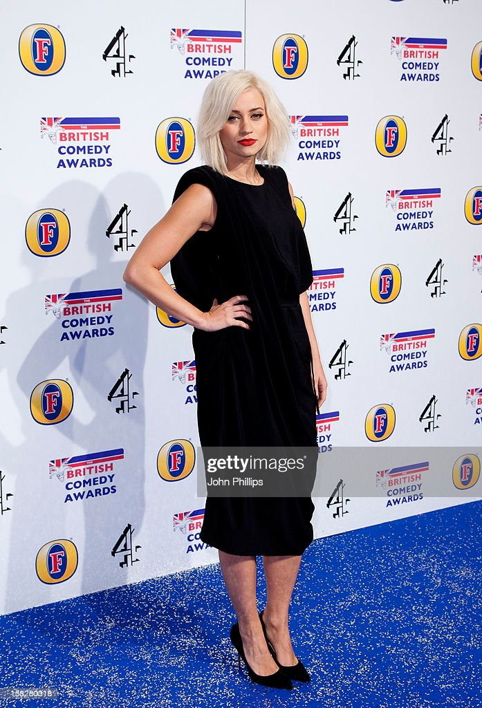 <a gi-track='captionPersonalityLinkClicked' href=/galleries/search?phrase=Kimberly+Wyatt&family=editorial&specificpeople=678958 ng-click='$event.stopPropagation()'>Kimberly Wyatt</a> attends the British Comedy Awards at Fountain Studios on December 12, 2012 in London, England.