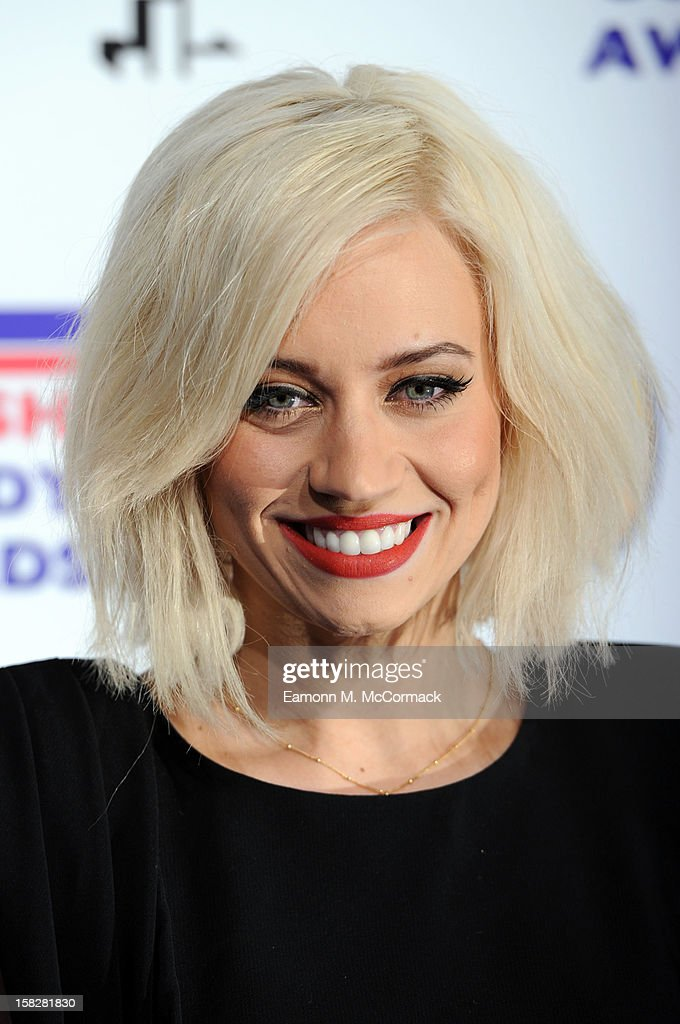 Kimberly Wyatt attends the British Comedy Awards at Fountain Studios on December 12, 2012 in London, England.