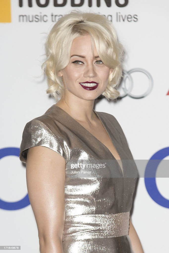 <a gi-track='captionPersonalityLinkClicked' href=/galleries/search?phrase=Kimberly+Wyatt&family=editorial&specificpeople=678958 ng-click='$event.stopPropagation()'>Kimberly Wyatt</a> attends the Nordoff Robbins Silver Clef awards at London Hilton on June 28, 2013 in London, England.