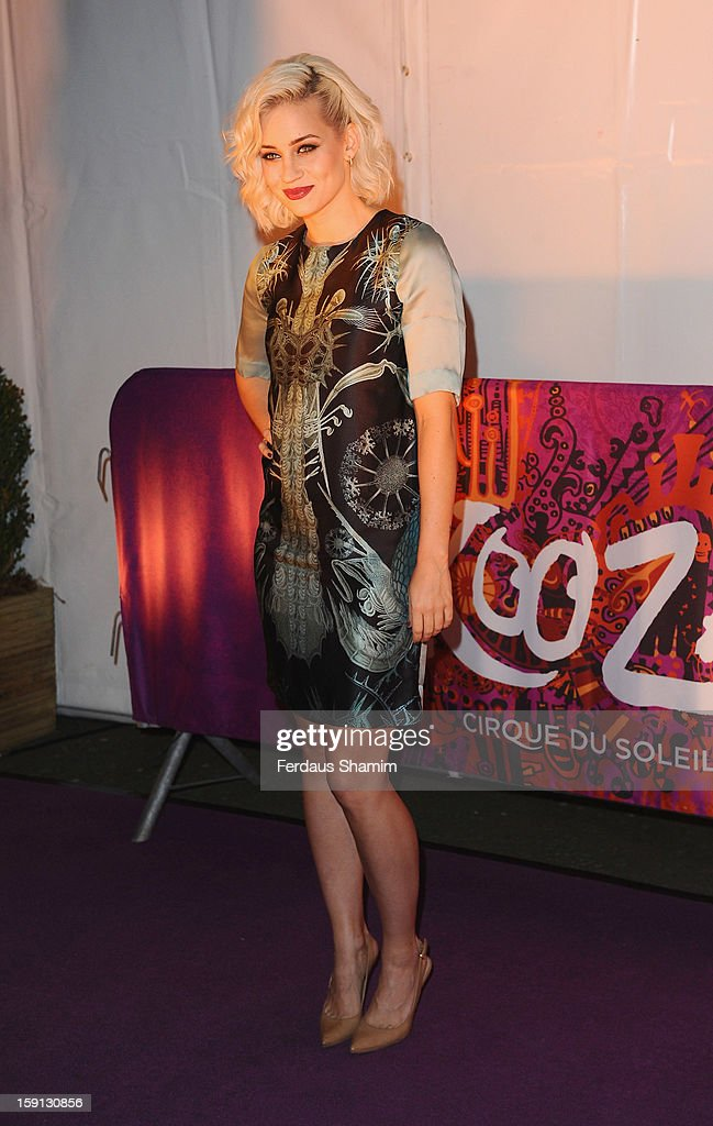 Kimberly Wyatt attends the opening night of Cirque Du Soleil's Kooza at Royal Albert Hall on January 8, 2013 in London, England.