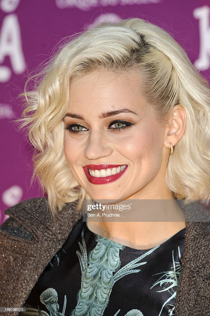 Kimberly Wyatt attends the opening night of Cirque Du Soleil's Kooza at the Royal Albert Hall on January 8, 2013 in London, England.