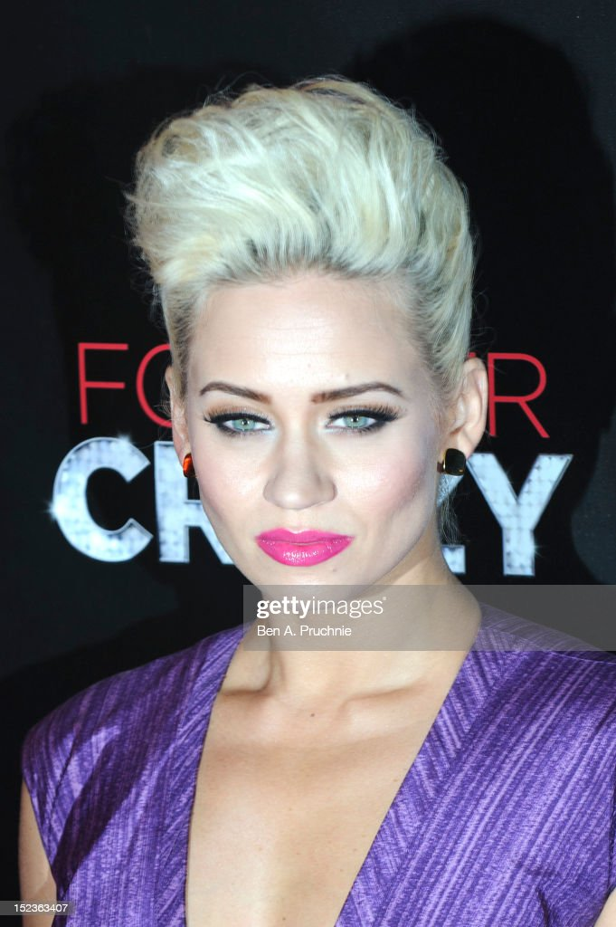 Kimberly Wyatt attends the premiere of Crazy Horse on September 19, 2012 in London, England.
