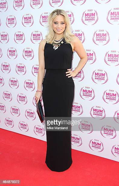 Kimberly Wyatt attends the Tesco Mum of the Year Awards at The Savoy Hotel on March 1 2015 in London England
