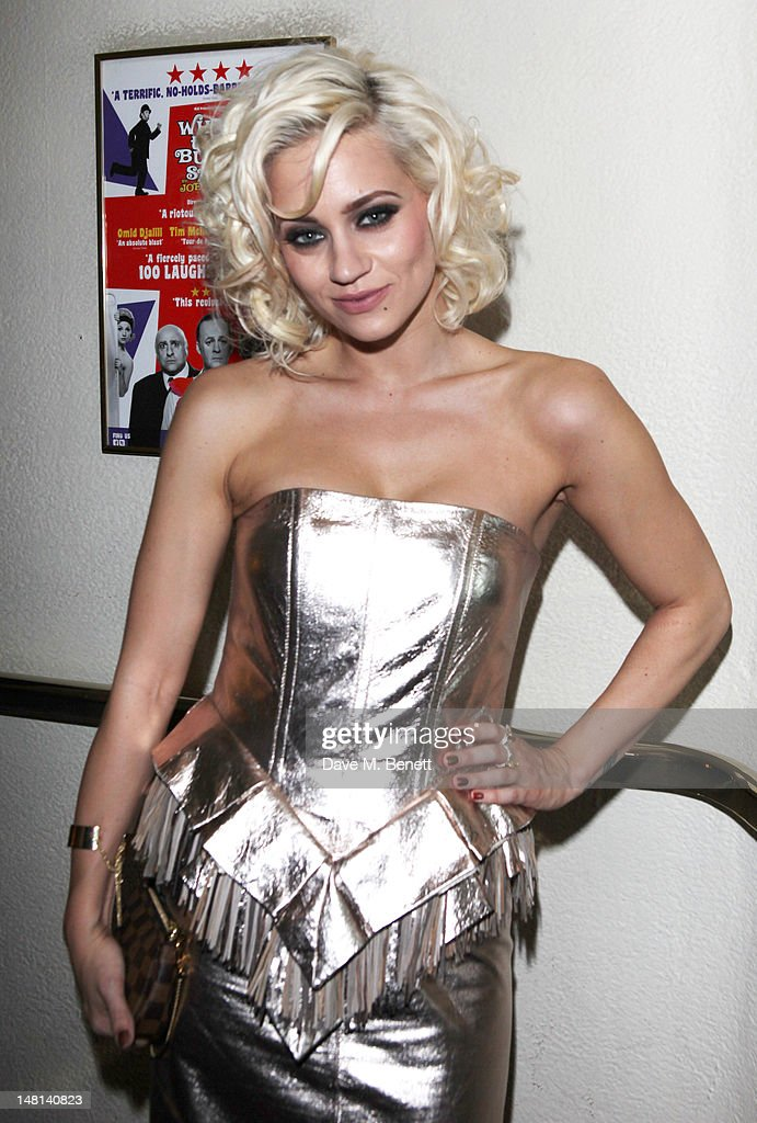 Kimberly Wyatt attends the 'The Hurly Burly Show' press night on July 10, 2012 on London, England.
