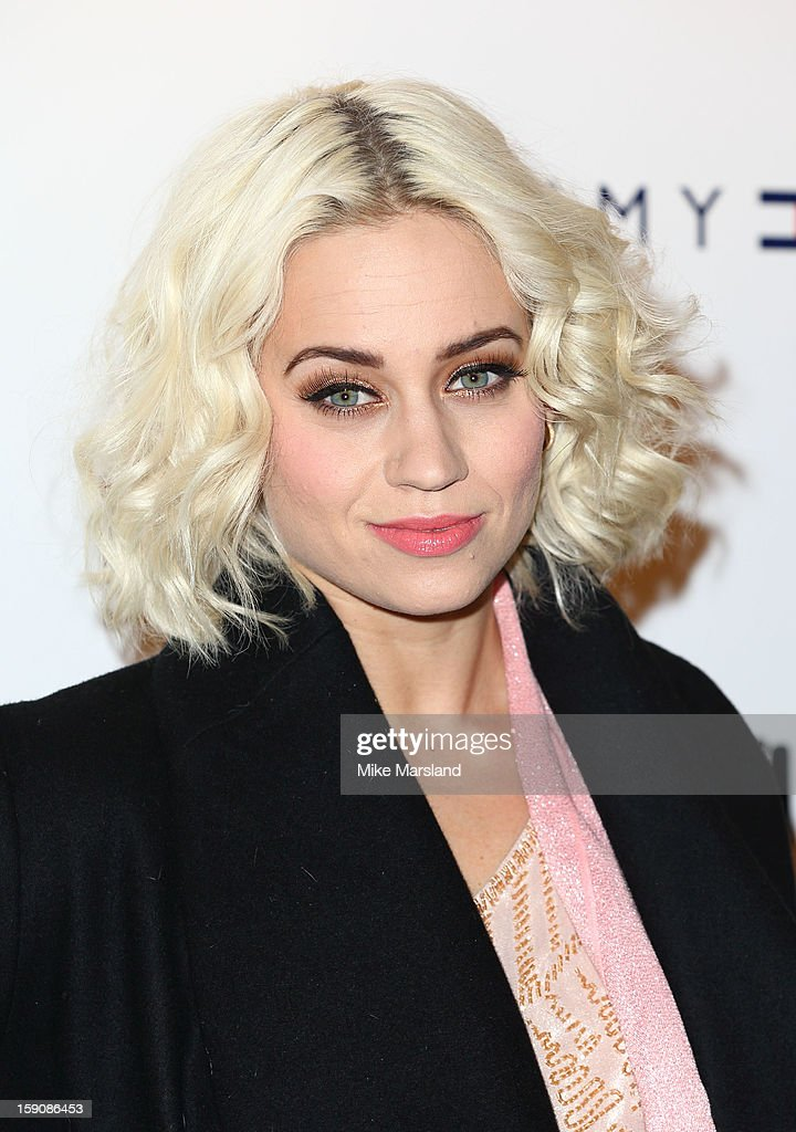 Kimberly Wyatt attends the Tommy Hilfiger & Esquire event at the London Collections: MEN AW13 at on January 7, 2013 in London, England.