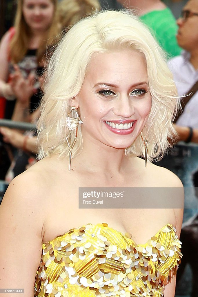 <a gi-track='captionPersonalityLinkClicked' href=/galleries/search?phrase=Kimberly+Wyatt&family=editorial&specificpeople=678958 ng-click='$event.stopPropagation()'>Kimberly Wyatt</a> attends the UK film premiere of 'The Wolverine' at The Empire Cinema on July 16, 2013 in London, England.