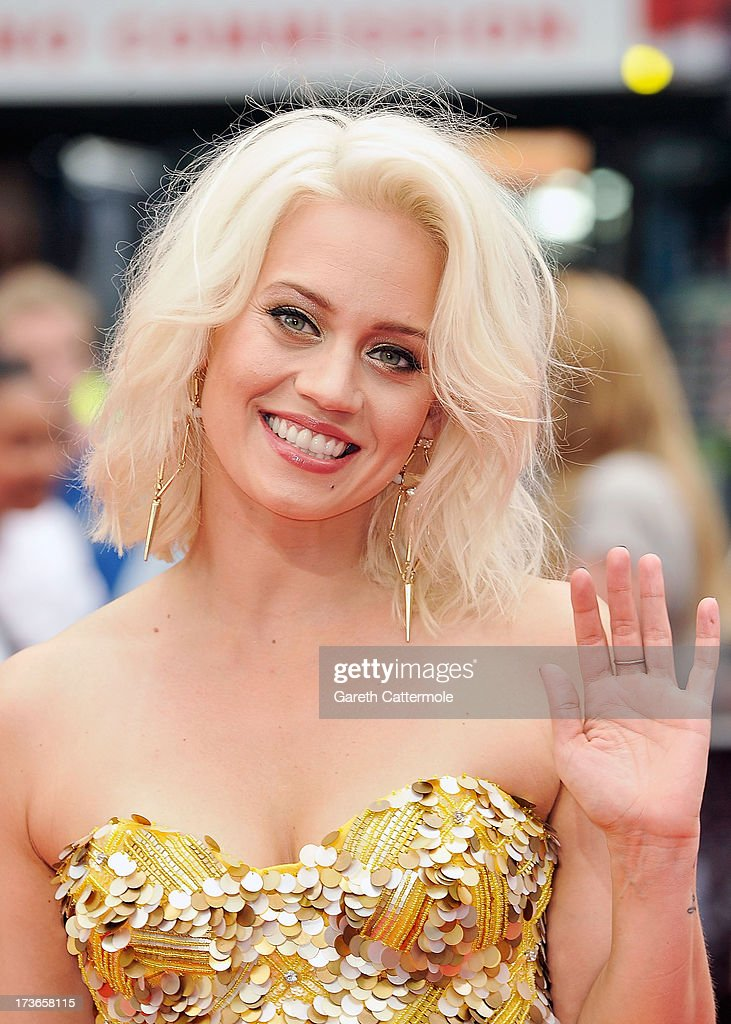 <a gi-track='captionPersonalityLinkClicked' href=/galleries/search?phrase=Kimberly+Wyatt&family=editorial&specificpeople=678958 ng-click='$event.stopPropagation()'>Kimberly Wyatt</a> attends the UK Premiere of 'The Wolverine' at Empire Leicester Square on July 16, 2013 in London, England.