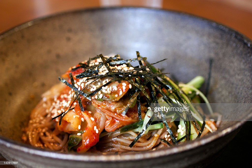 Kimchee Soba : Stock Photo