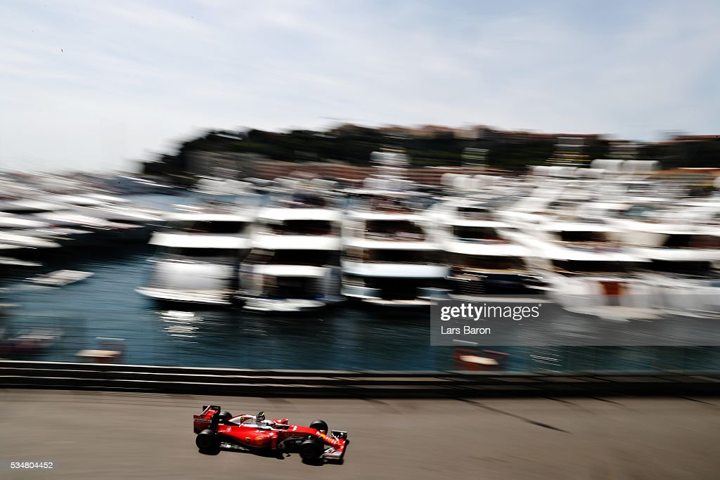 <a gi-track='captionPersonalityLinkClicked' href=/galleries/search?phrase=Kimi+Raikkonen&family=editorial&specificpeople=201904 ng-click='$event.stopPropagation()'>Kimi Raikkonen</a> of Finland driving the (7) Scuderia Ferrari SF16-H Ferrari 059/5 turbo (Shell GP) on track during final practice ahead of the Monaco Formula One Grand Prix at Circuit de Monaco on May 28, 2016 in Monte-Carlo, Monaco.