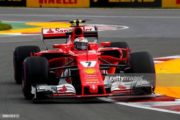 Kimi Raikkonen of Finland during the Canadian Formula One Grand Prix at Circuit GillesVilleneuve on June 9 2017 in Montreal Canada