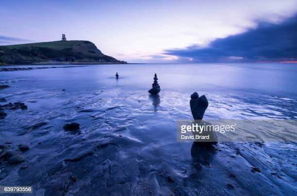Kimmeridge Bay at blue hour