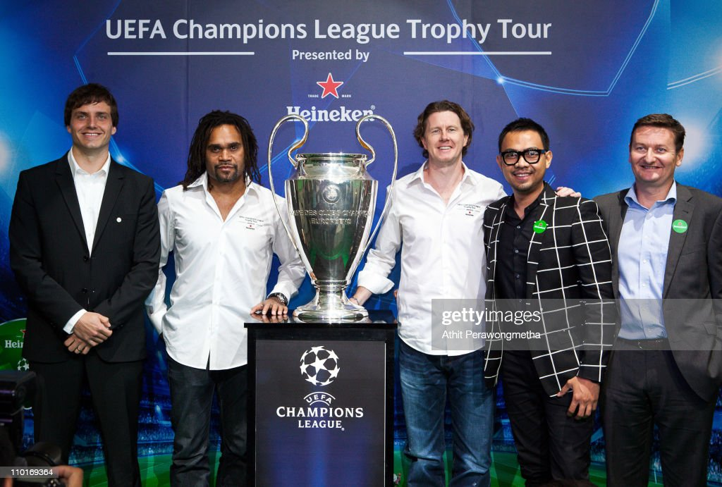 UEFA Champions League Trophy Tour Asia 2011 - Press Conference and VIP Night