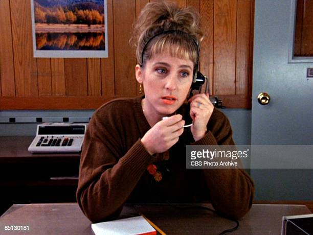 Kimmy Robertson as Lucy Moran in the pilot episode of Twin Peaks 1990