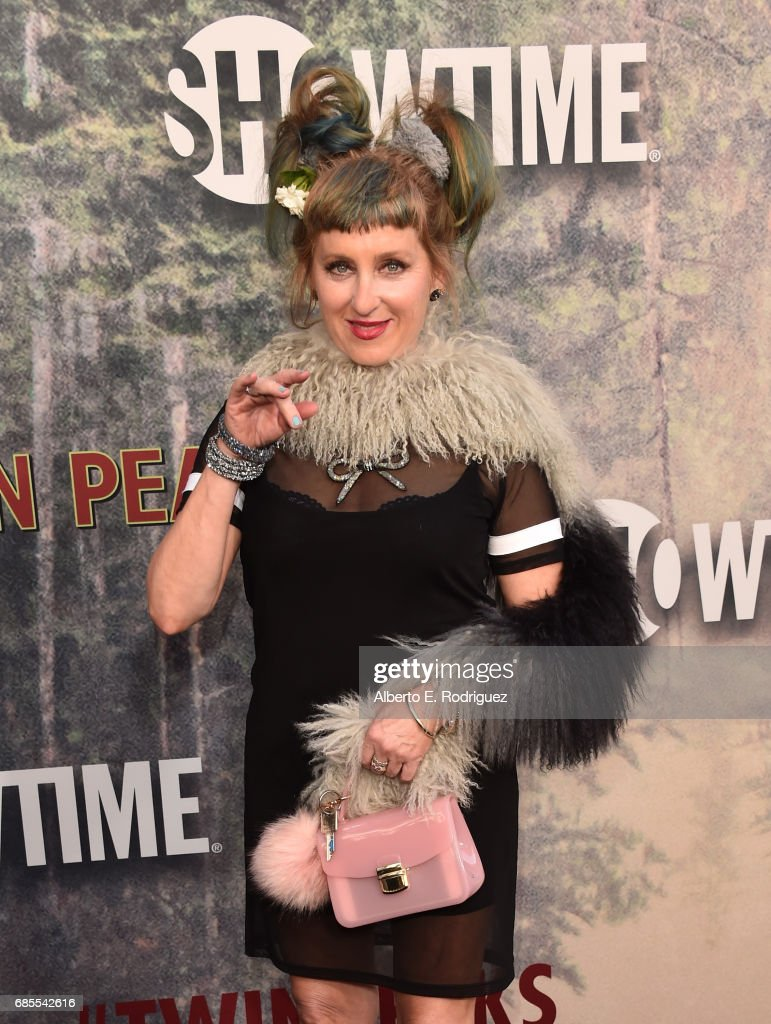 Kimmy Robertson attends the premiere of Showtime's 'Twin Peaks' at The Theatre at Ace Hotel on May 19, 2017 in Los Angeles, California.