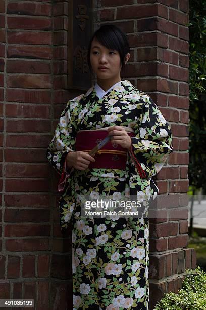 Kimono and Brick
