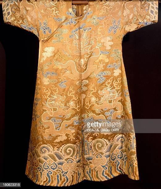 Kimono with dragon motif Japan Japanese Civilisation 18th century