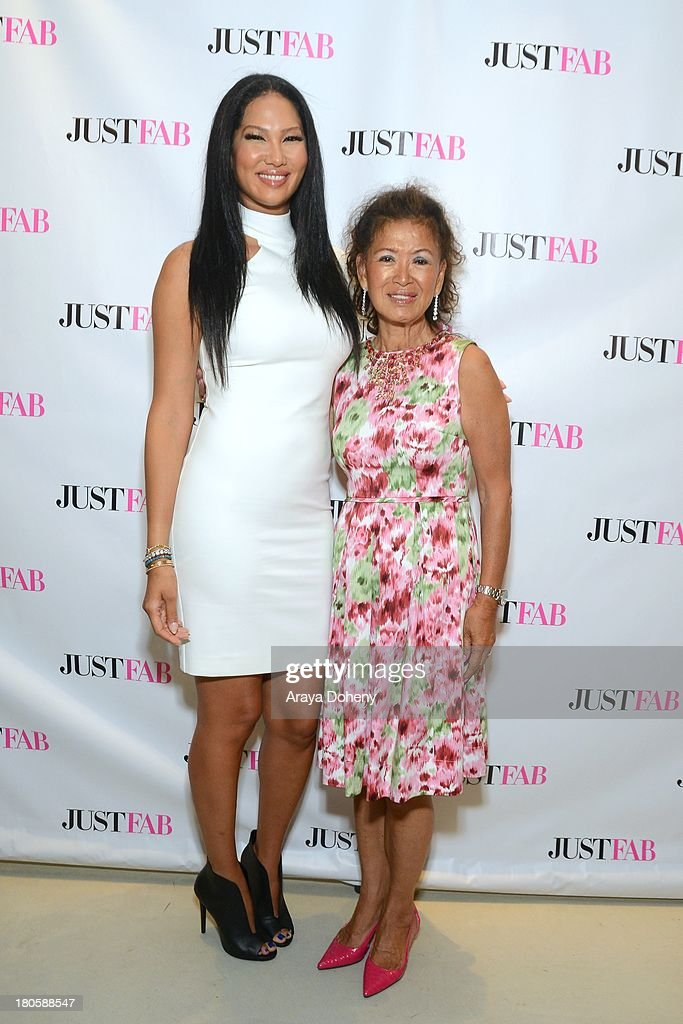<a gi-track='captionPersonalityLinkClicked' href=/galleries/search?phrase=Kimora+Lee+Simmons&family=editorial&specificpeople=203004 ng-click='$event.stopPropagation()'>Kimora Lee Simmons</a> and Joanne Perkins attend the JustFab Boutique grand opening with <a gi-track='captionPersonalityLinkClicked' href=/galleries/search?phrase=Kimora+Lee+Simmons&family=editorial&specificpeople=203004 ng-click='$event.stopPropagation()'>Kimora Lee Simmons</a> at JustFab Flagship Store on September 14, 2013 in Glendale, California.