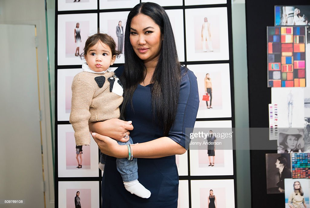 <a gi-track='captionPersonalityLinkClicked' href=/galleries/search?phrase=Kimora+Lee+Simmons&family=editorial&specificpeople=203004 ng-click='$event.stopPropagation()'>Kimora Lee Simmons</a> and son Wolfe Lee Leissner attend <a gi-track='captionPersonalityLinkClicked' href=/galleries/search?phrase=Kimora+Lee+Simmons&family=editorial&specificpeople=203004 ng-click='$event.stopPropagation()'>Kimora Lee Simmons</a> Presentation during the Fall 2016 New York Fashion Week on February 12, 2016 in New York City.