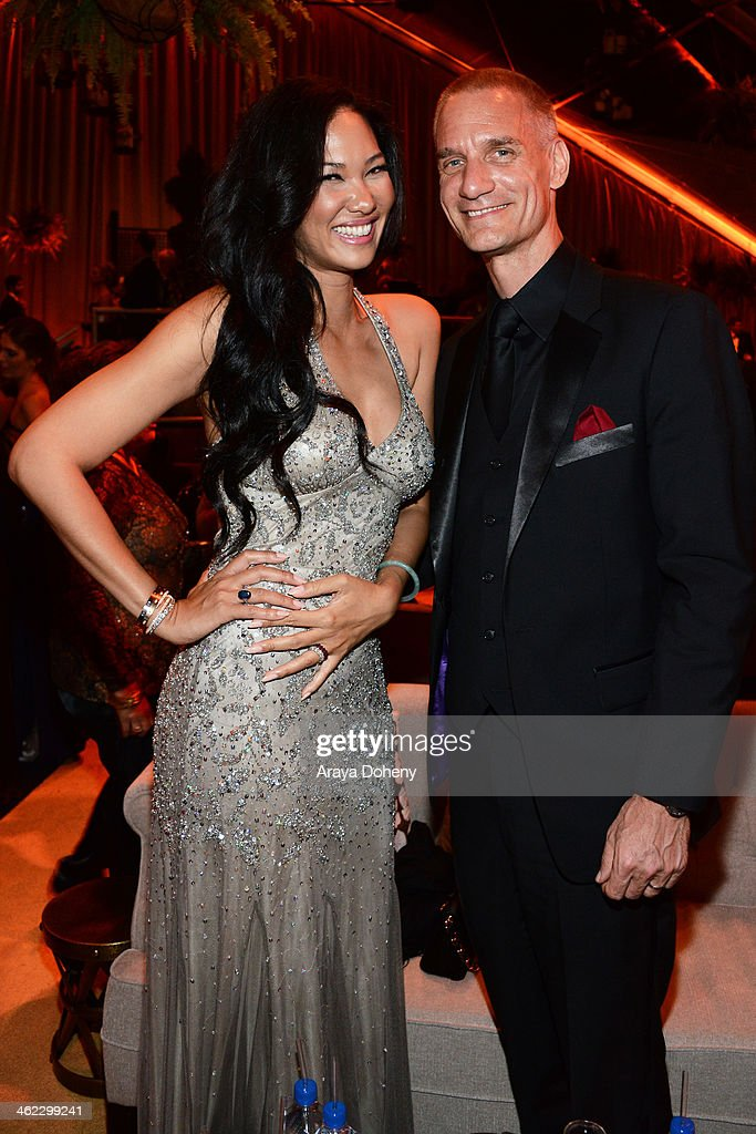 <a gi-track='captionPersonalityLinkClicked' href=/galleries/search?phrase=Kimora+Lee+Simmons&family=editorial&specificpeople=203004 ng-click='$event.stopPropagation()'>Kimora Lee Simmons</a> (L) and Tim Leissner attend The Weinstein Company & Netflix's 2014 Golden Globes After Party presented by Bombardier, FIJI Water, Lexus, Laura Mercier, Marie Claire and Yucaipa Films at The Beverly Hilton Hotel on January 12, 2014 in Beverly Hills, California.