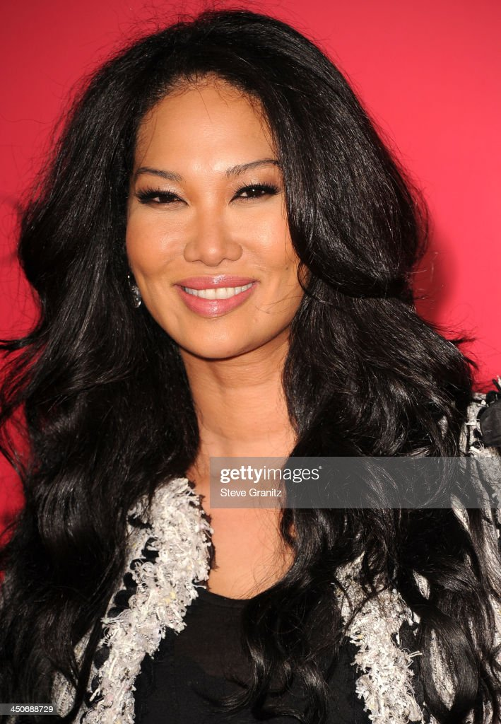 Kimora Lee Simmons arrives at the 'The Hunger Games: Catching Fire' - Los Angeles Premiere at Nokia Theatre L.A. Live on November 18, 2013 in Los Angeles, California.