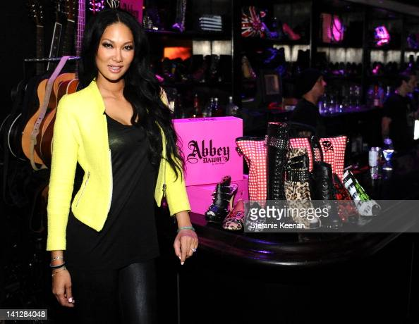 Kimora Lee Simmons attends Justfabulous Celebrates The Launch Of Abbey Dawn By Avril Lavigne on March 13 2012 in Los Angeles California