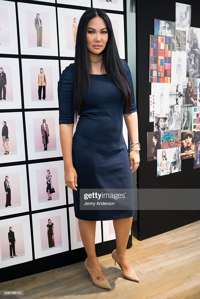 Kimora Lee Simmons attends Kimora Lee Simmons Presentation during the Fall 2016 New York Fashion Week on February 12, 2016 in New York City.