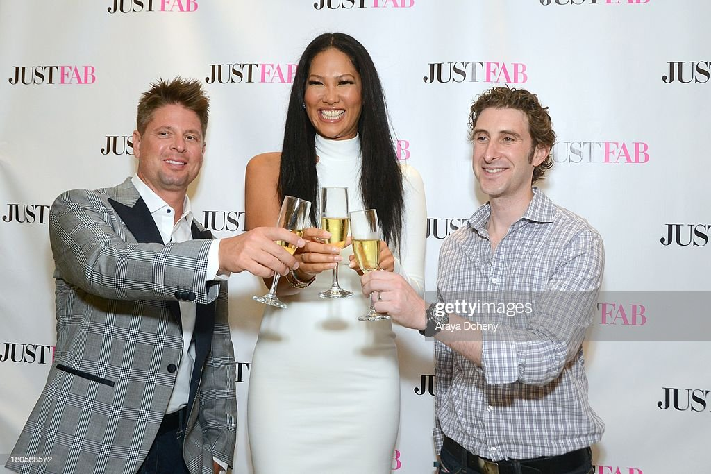 <a gi-track='captionPersonalityLinkClicked' href=/galleries/search?phrase=Kimora+Lee+Simmons&family=editorial&specificpeople=203004 ng-click='$event.stopPropagation()'>Kimora Lee Simmons</a> (C) attends the JustFab Boutique grand opening with <a gi-track='captionPersonalityLinkClicked' href=/galleries/search?phrase=Kimora+Lee+Simmons&family=editorial&specificpeople=203004 ng-click='$event.stopPropagation()'>Kimora Lee Simmons</a> at JustFab Flagship Store on September 14, 2013 in Glendale, California.