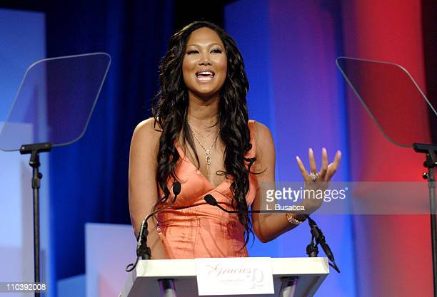Kimora Lee Simmons during American Women in Radio Television 30th Annual Gracie Allen Awards Show at New York Marriot Marquis Hotel in New York City...