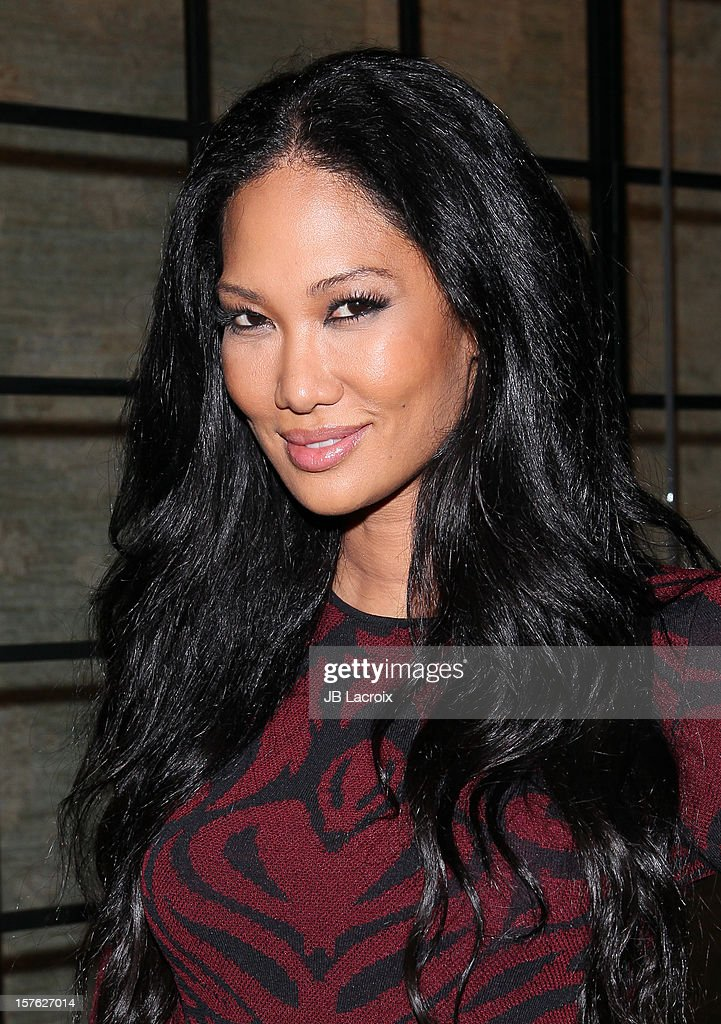 Kimora Lee Simmons is seen on December 4, 2012 in Los Angeles, California.