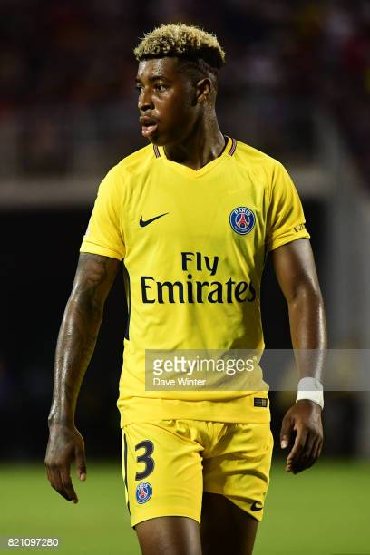 Kimpembe Presnel of PSG during the International Champions Cup match between Paris Saint Germain and Tottenham Hotspur on July 22 2017 in Orlando...