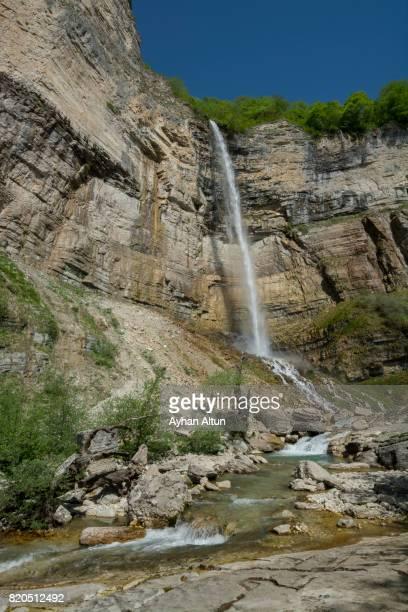 Kinchkha Waterfall in Khoni Town,near Kutaisi,Imereti Province,Georgia