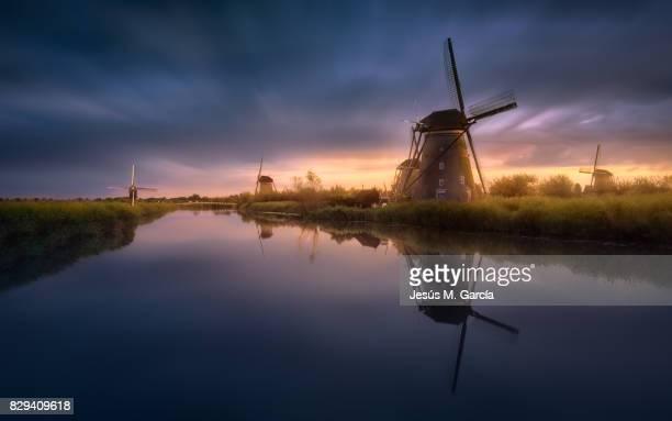 Kinderdijk Windmills in Amsterdam