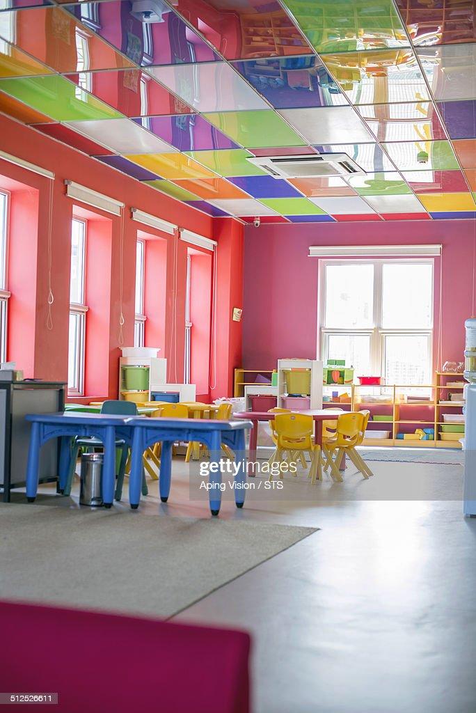 Kindergarten Classroom Stock Photo Getty Images