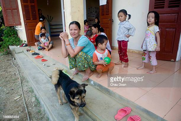 A kindergarten in Duong hamlet Vay Nua commune Da Bac district Hoa Binh province Poor farmers in Vay Nua commune have received support from the...