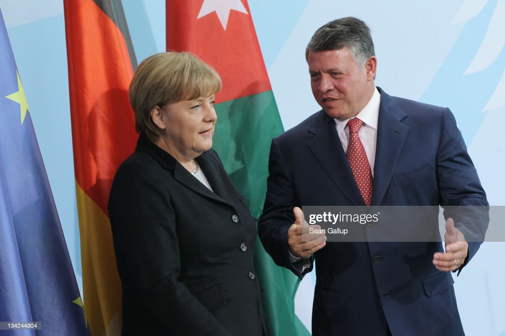 King Abdullah II of Jordan Visits Germany