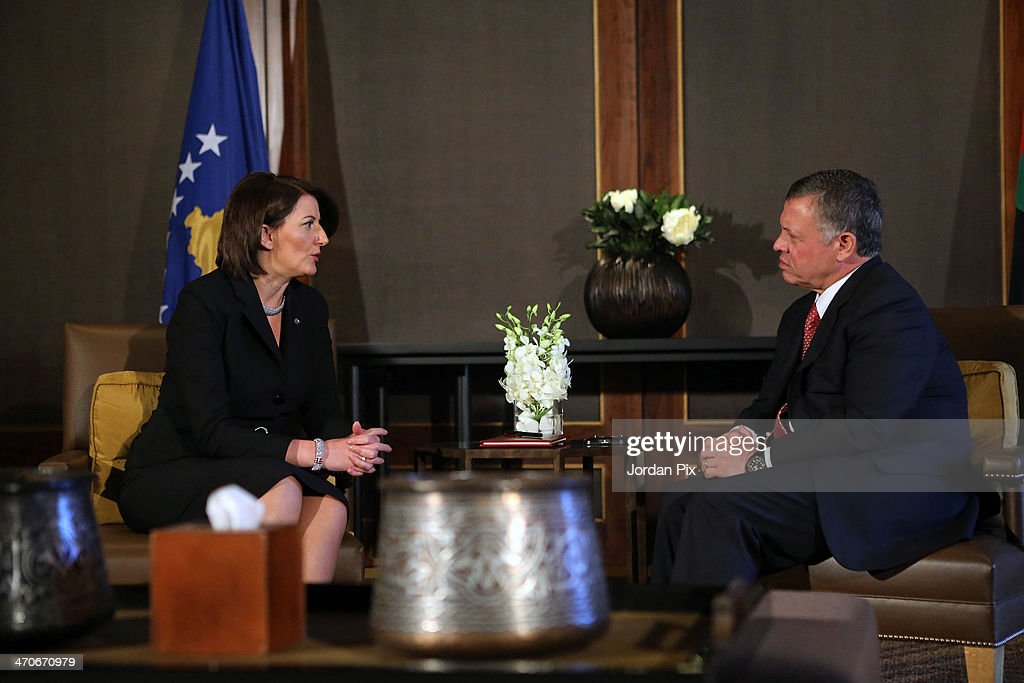 President of the Republic of Kosovo Atifete Jahjaga Visits Jordan