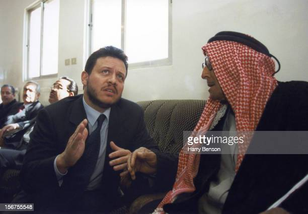 MA'AN JORDAN JANUARY 01 King Abdullah II of Jordan is photographed for Life Magazine in 2000 in Ma'an Jordan