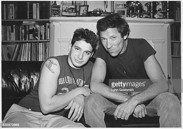 King AdRock of The Beastie Boys with His Father
