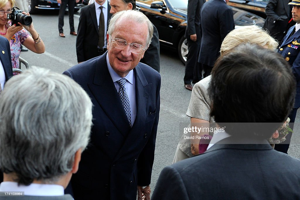 King <a gi-track='captionPersonalityLinkClicked' href=/galleries/search?phrase=Albert+II+of+Belgium&family=editorial&specificpeople=159444 ng-click='$event.stopPropagation()'>Albert II of Belgium</a> attends the concert held ahead of Belgium abdication & coronation on July 20, 2013 in Brussels, Belgium.