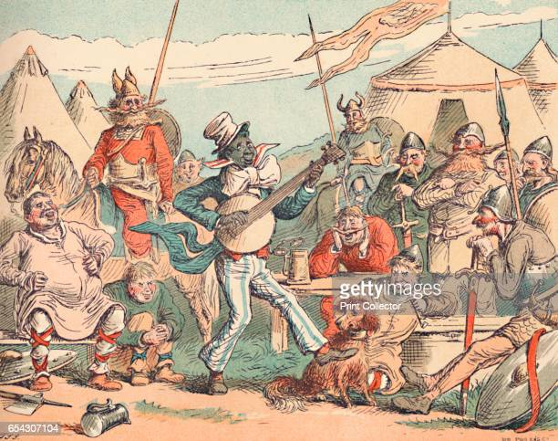 King Alfred in the Danish Camp c1884 Alfred was king of the southern AngloSaxon kingdom of Wessex from 871899 AD Here Alfred in disguise sings in the...