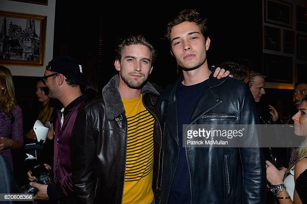 King and Francisco Lachowski at Tommy Hilfiger Celebrates the Launch of His Memoir 'American Dreamer My Life in Fashion Business' at The Clocktower...