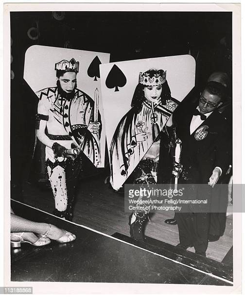 King and Queen of Spades ca 1954 Photo by Weegee /International Center of Photography/Getty Images