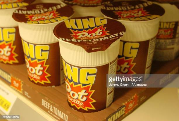 King Beef and Tomato Pot Noodle on a London supermarket shelf The Food Standard Agency has warned today that a potentially cancercausing dye was...
