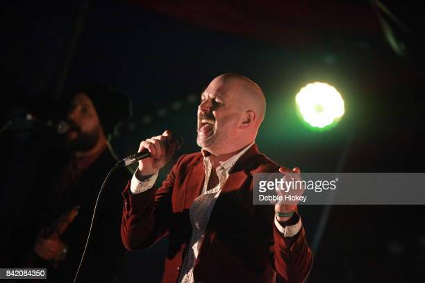 02 King Bones performing on Jerry Fish Electric Slideshow stage at Electric Picnic Festival at Stradbally Hall Estate on September 2 2017 in Laois...
