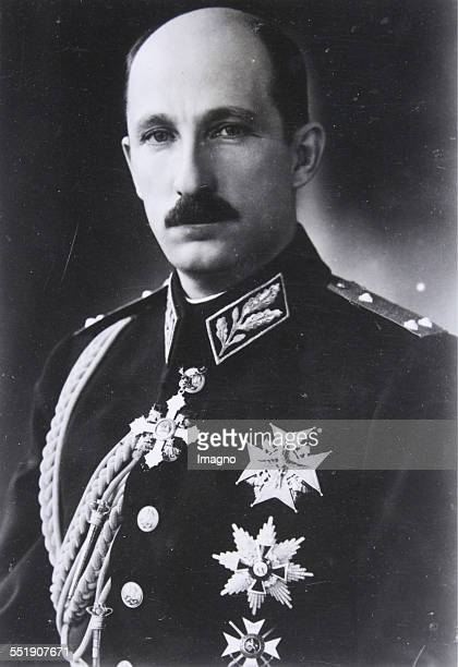 King Boris III of Bulgaria About 1930 Photograph
