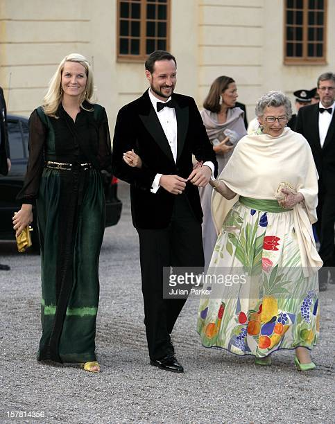 King Carl Gustaf Of Sweden'S 60Th Birthday CelebrationsCrown Prince Haakon Crown Princess MetteMarit Princess Astrid Of Norway Attend A Gala Dinner...