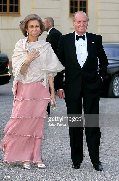 King Carl Gustaf Of Sweden'S 60Th Birthday CelebrationsKing Juan Carlos Queen Sofia Of Spain Attend A Gala Dinner At Drottningholm Palace