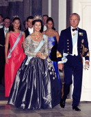 King Carl Gustaf Queen Silvia Crown Princess Victoria Prince Carl Philip Princess Madeleine Of Sweden Attend Queen Margrethe Ii Of Denmark'S 60Th...