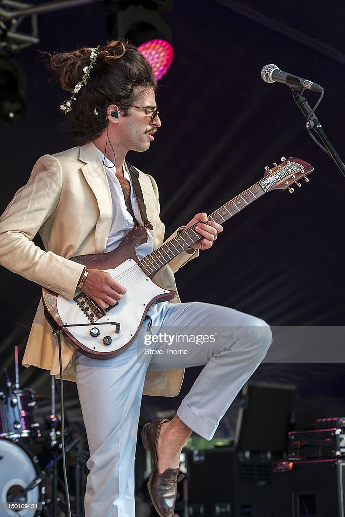 King Charles performs on stage during Wilderness Festival at Cornbury Park on August 10, 2012 in Oxford, United Kingdom.