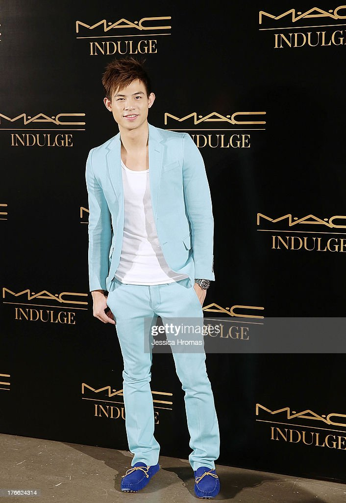 King Chiu attends the 'Dazzling M.A.C Indulge Event' to launch their Fall 2013 luxury line of cosmetics on August 16, 2013 in Hong Kong, Hong Kong.
